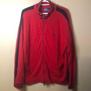Ralph Lauren full zip coat size large